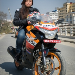 Merina Shrestha: What it means to be a lady rider in Nepal
