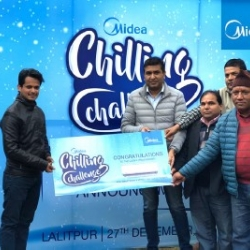 Midea Chilling Challenge Winner Announced